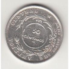 50 сентаво, Коста-Рика, 1923numismatico.ru