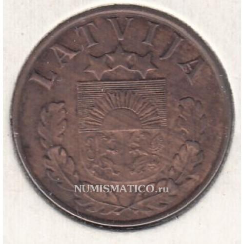 2 сантима 1939 латвия цена когда появились ассигнации в россии
