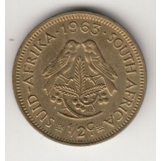 1/2 цента, ЮАР, 1963