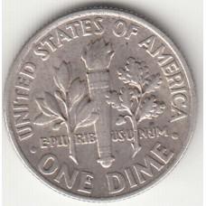 1 дайм, США, 1964