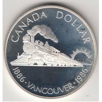 1 доллар, Канада, 1986