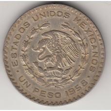 1 песо, Мексика, 1958