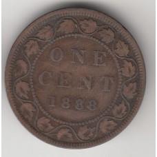 1 цент, Канада, 1888