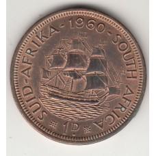 1 цент, ЮАР, 1960