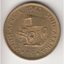 1 цент, ЮАР, 1963