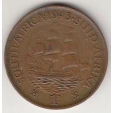 1 цент, Южная Африка, 1943