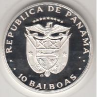10 бальбоа, Панама, 1982