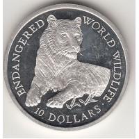 10 долларов, Острова Кука, 1990
