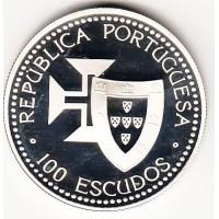 100 эскудо, Португалия, 1989