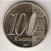 100 кванз, Ангола, 2015
