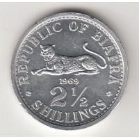 2,5 шиллинга, Биафра, 1969