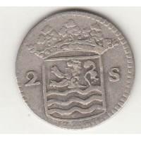 2 стювера, Нидерланды (Зеландия), 1735