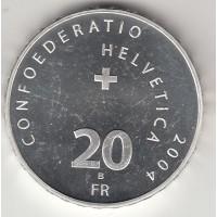 20 франков, Швейцария, 2004