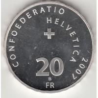 20 франков, Швейцария, 2007