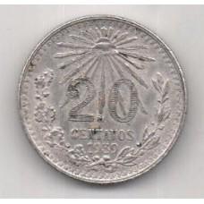 20 сентаво, Мексика, 1939