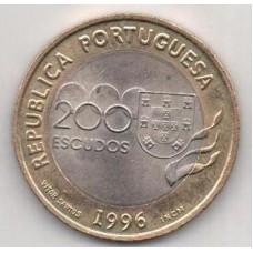 200 эскудо, Португалия, 1996