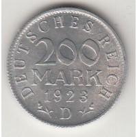 200 марок, Германия, 1923 (D)