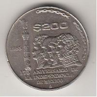200 песо, Мексика, 1985
