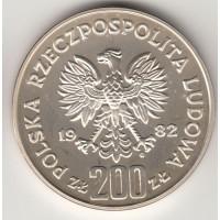 200 злотых, Польша, 1982