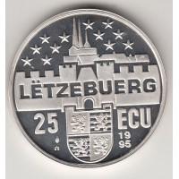 25 экю, Люксембург, 1995