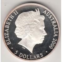 5 долларов, Австралия, 2000