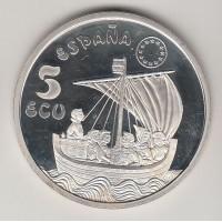 5 экю, Испания, 1996