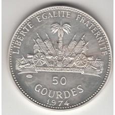 50 гурдов, Гаити, 1974