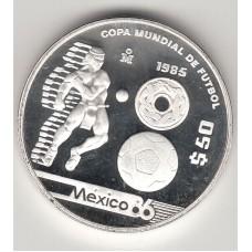 50 песо, Мексика, 1985