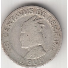 50 сентаво, Гондурас, 1931