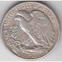1/2 доллара, США, 1943
