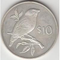 10 долларов, Фиджи, 1978