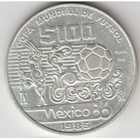 100 песо, Мексика, 1985