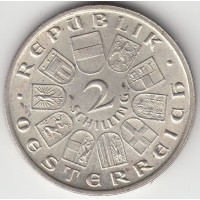 2 шиллинга, Австрия, 1928