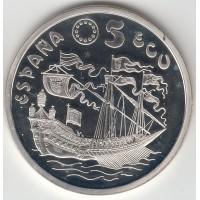 5 экю, Испания, 1995