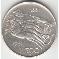 500 лир, Италия, 1961