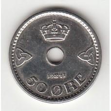 50 эре, Норвегия, 1941