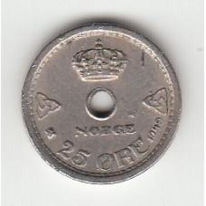 25 эре, Норвегия, 1949