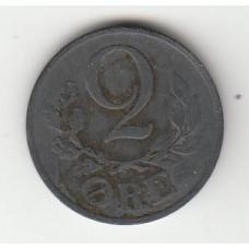 2 эре, Дания, 1940