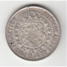 1 крона, Швеция, 1941
