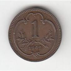 1 геллер, Австро-Венгрия, 1902