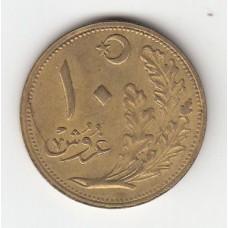 10 курушей, Турция, 1922