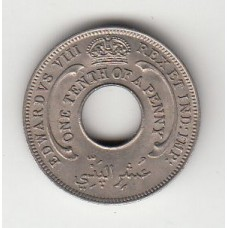 1/12 пенса, Британская Западная Африка, 1936