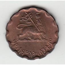 25 центов, Эфиопия, 1936