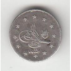 1 куруш, Османская империя, 1889