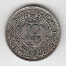 10 франков, Марокко, 1949
