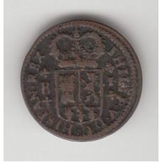 1 мараведи, Испания, 1718
