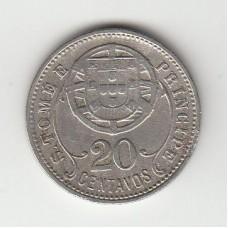 20 сентаво, Сан-Томе и Принсипи, 1929