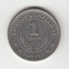 1 кордоба, Никарагуа, 2000