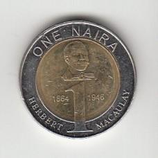 1 найра, Нигерия, 2006
