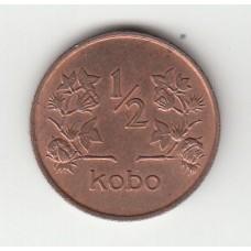 1/2 кобо, Нигерия, 1973